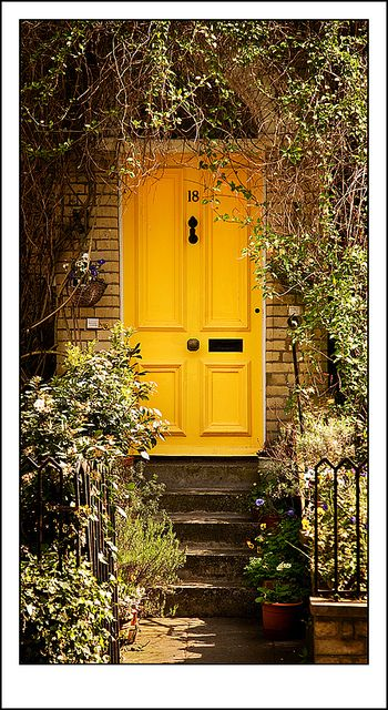 Hampstead front door