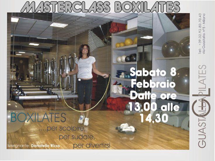 First #BOXILATES Masterclass  #Boxe + #pilates in @GUASTALLAPILATES