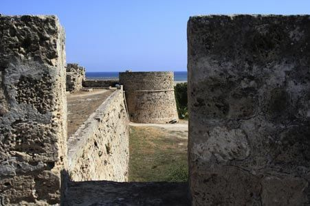 Famausta castle, where legends have walked in North Cyprus #legends #northcyprus #castle #history