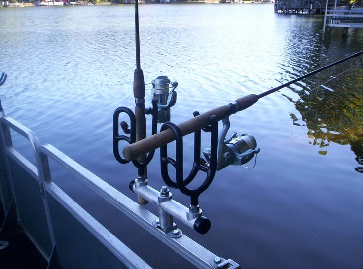 25 best ideas about boat rod holders on pinterest rod for Fishing rod holders for pontoon boats