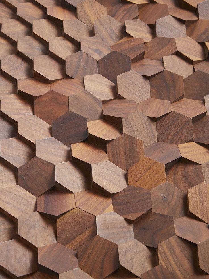 Revêtement mural en bois : un touché différent, une luminosité différente, du volume sur ce qui est habituellement plat.