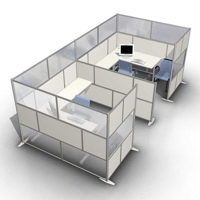 Best 25 office cubicles ideas on pinterest office for Office dividers modern