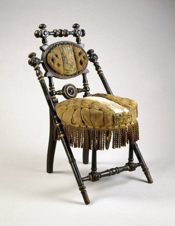 Victorian George Hunzinger Chair  c. 1869