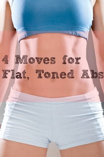 4 Moves for Flat, Toned Abs! [ Waterbabiesbikini.com ] #fitness #bikini #elegance