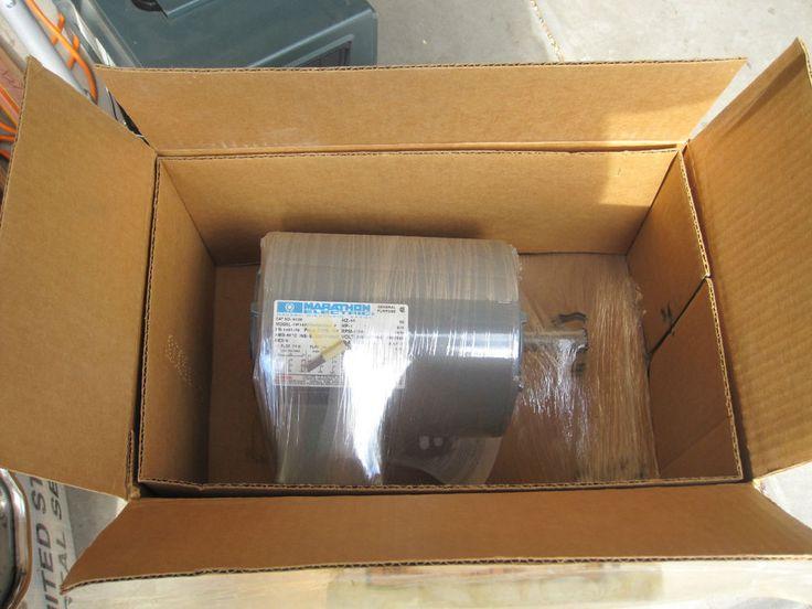 Marathon Electric H120 Integral HP 3 Phase Motor 1 - 3/4 HP Motor 208/230 #MarathonElectric
