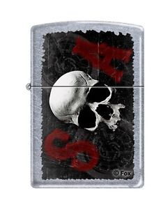 sons of anarchy zippo lighters | Zippo 1892 Sons of Anarchy Street Chrome Lighter Extra Flints Wick ...