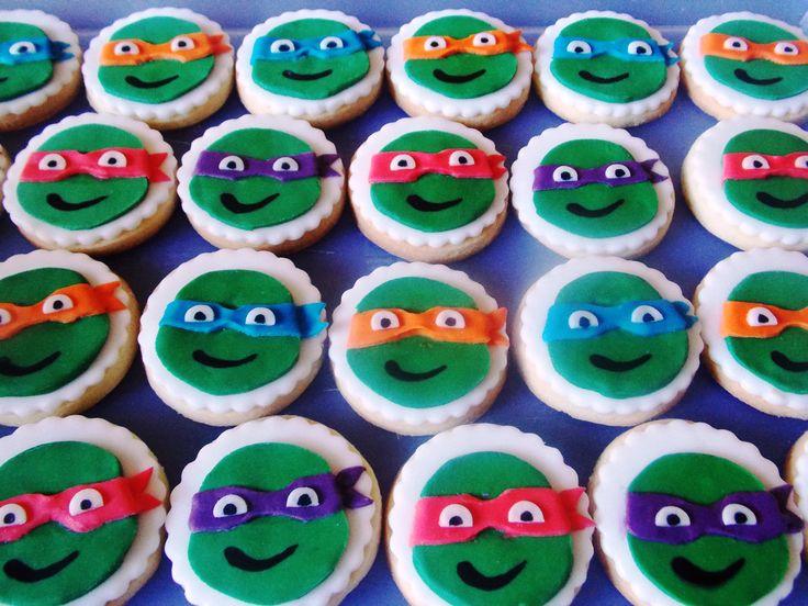 ninja turtles cookies