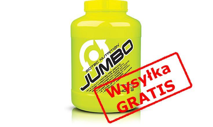 Scitec - JUMBO 4400g   6 gratisów