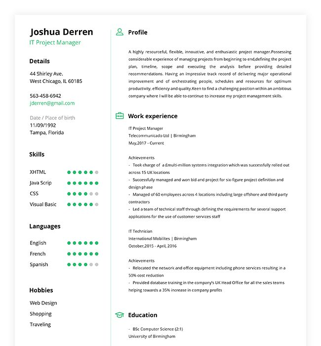Best 25+ Online resume builder ideas on Pinterest Resume builder - automatic resume builder