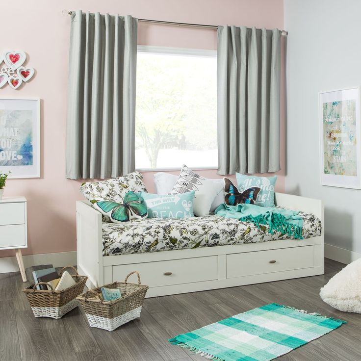 ANNA Twin Daybed (White)