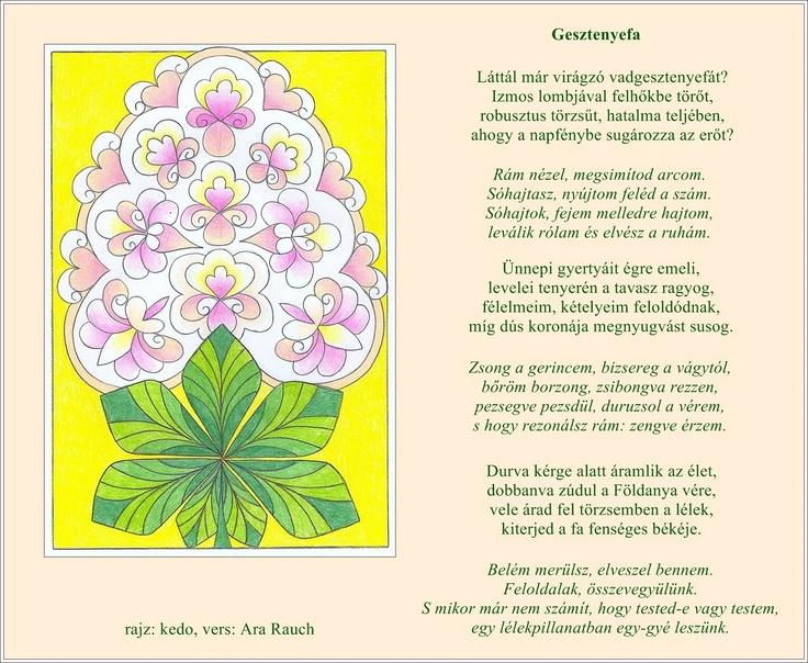 Láttál már virágzó vadgesztenyefát? Izmos lombjával felhőkbe törőt, robusztus törzsűt, hatalma teljében, ahogy a napfénybe sugározza az erőt?...