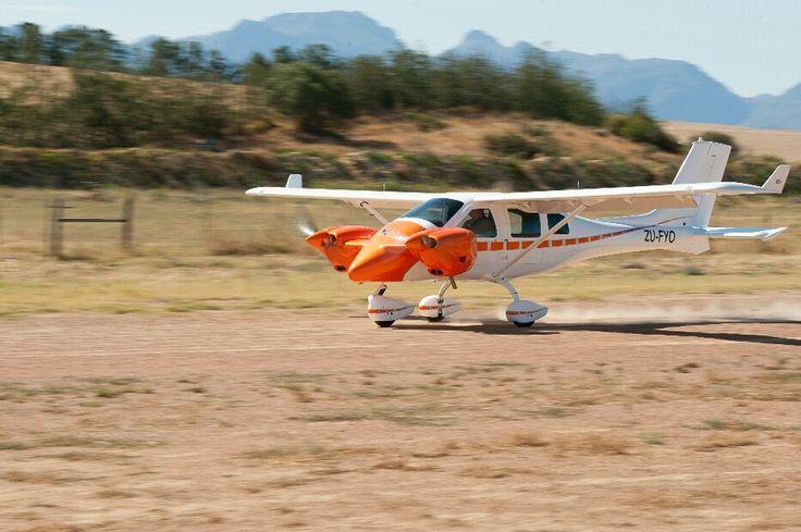 Jabiru J432 Twin Aircraft manufactured in South Africa. 2016
