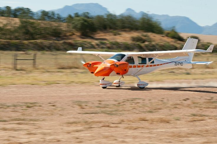 Jabiru J432 Twin Aircraft manufactured in South Africa. 2016