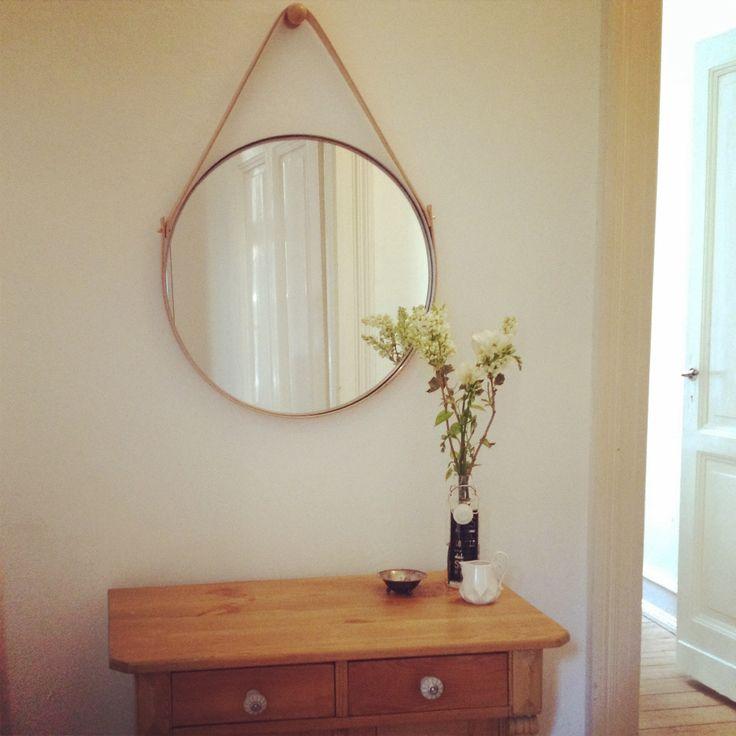 Awesome Strapped mirror Ikea Spiegel und Leder easy