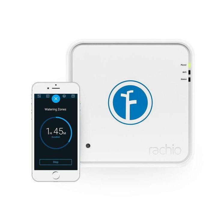 Rachio Iro 16 Zone Wi-Fi Wireless Intelligent Irrigation Sprinkler Controller #RachioInc