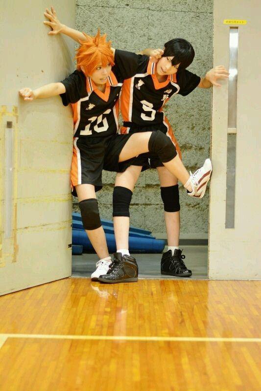 Names Kageyama Tobio And Hinata Shoyo Team Karasuno