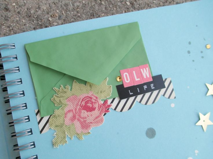 Smash book ingredients   envelopes