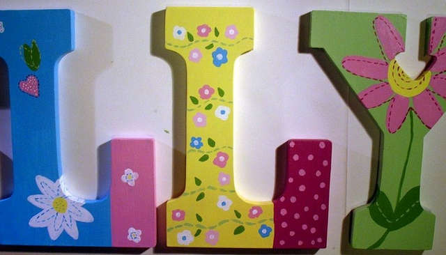 105 Best Images About Decorating With Wall Letters On