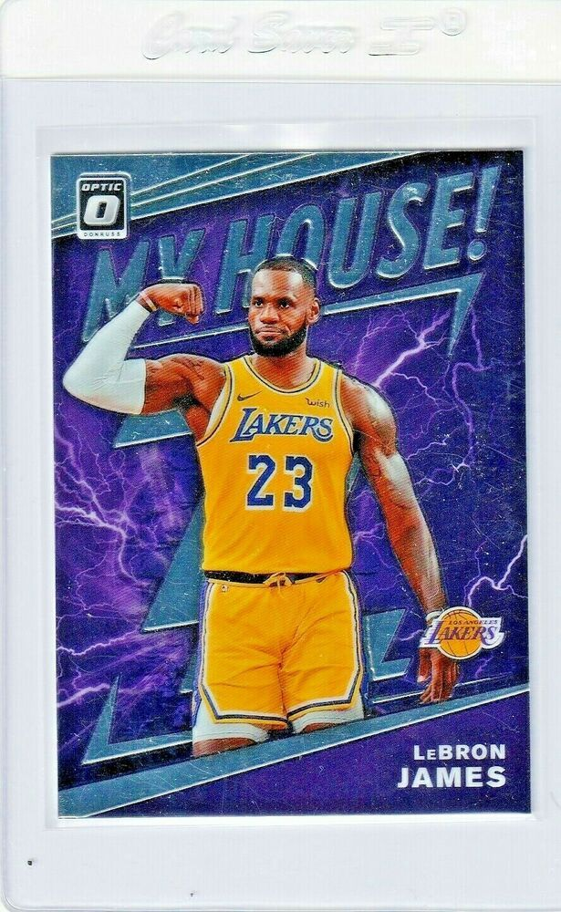 2019 Lebron James My House Optic Panini Lakers 13 Pack Fresh Losangeleslakers In 2020 Lebron James Lebron Baseball Cards