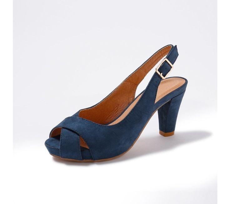Sandály v semišovém vzhledu | blancheporte.cz #blancheporte #blancheporteCZ #blancheporte_cz #shoes #boty #sandals