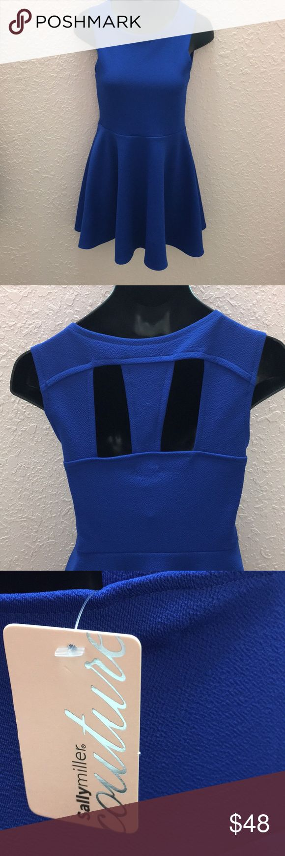 Royal Blue Sally Miller Couture Dress Gorgeous dress made by Sally Miller. Perfect for any occasion! Royal blue color with keyhole open back. Sally Miller Dresses Casual