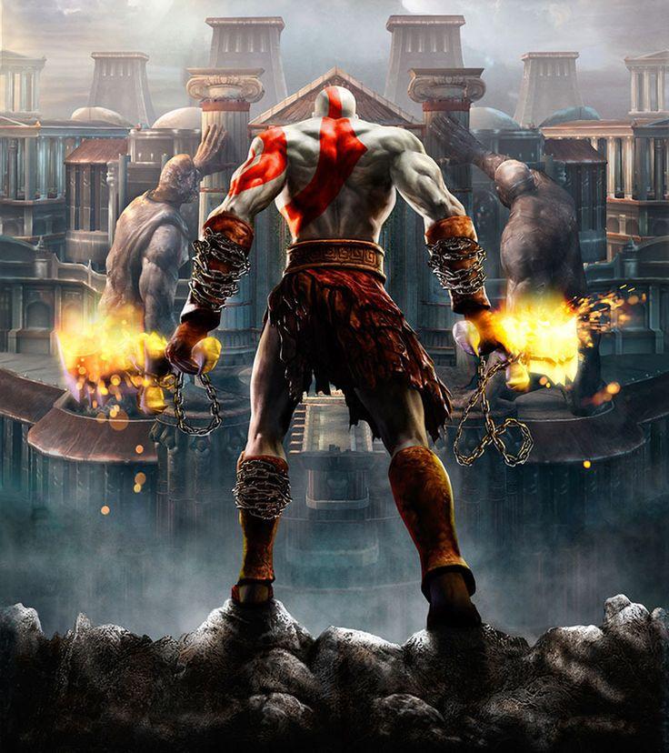 Gods of War II,videojuego basado en el heroe kratos y de su ascension al olimpo