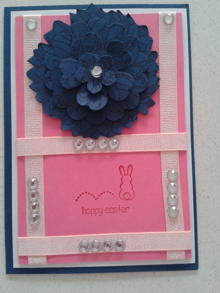 Easter Card.....An Original Design By Dungaree Doll Creations