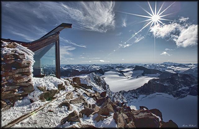 Galdhøpiggen (roof of Norway 2469 m)