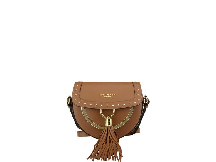 BALMAIN DOMAINE 18 BAG. #balmain #bags #leather #