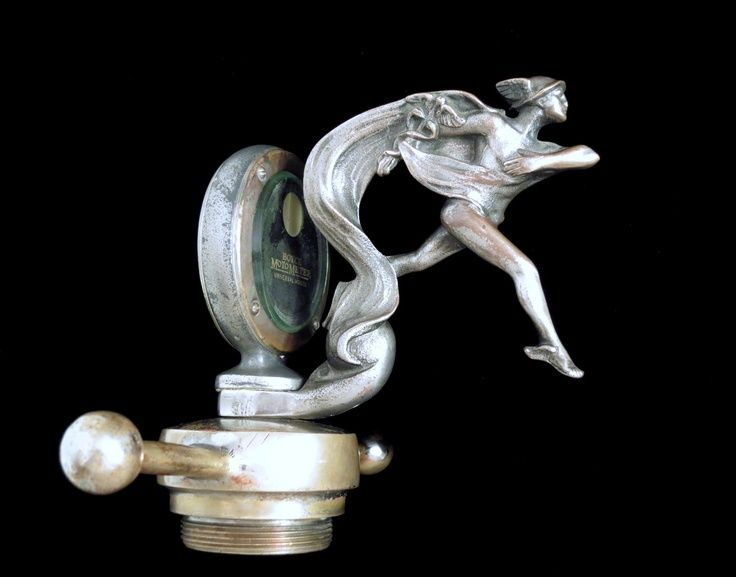 Mercury? A lot of hood ornaments feature naked people. What's up with that?