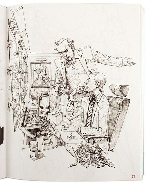 Kim Jung-Gi Sketch Collection 2011, Kim Jung-Gi