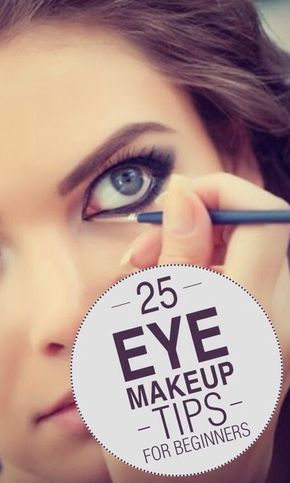 20 Eye Makeup Tips For Beginners #SpringForward