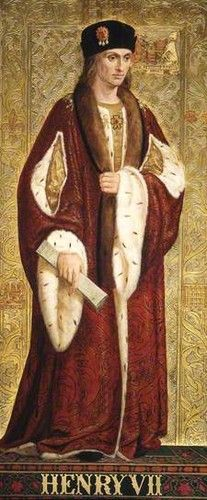 Photo of King Henry VII for fans of Tudor History.