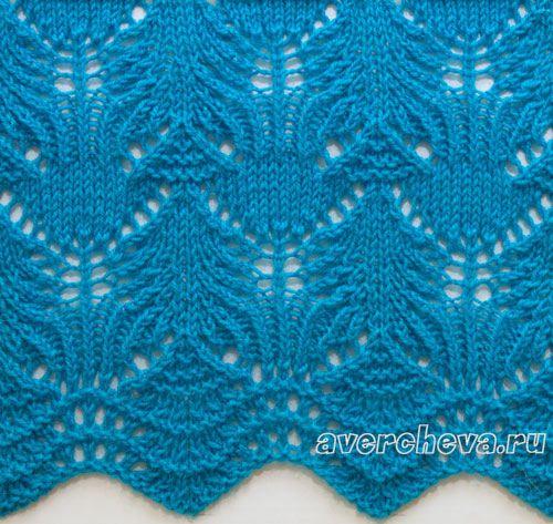 Openwork patterns knitting needles