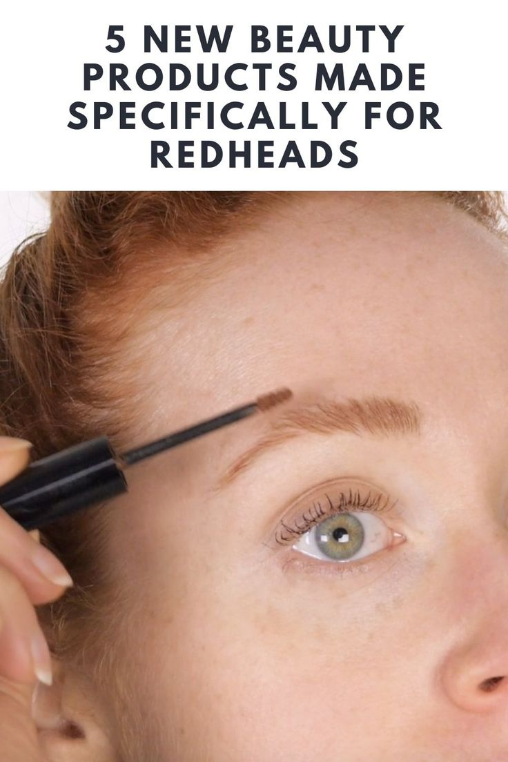 5 New Beauty Products Made Specifically For Redheads in ...