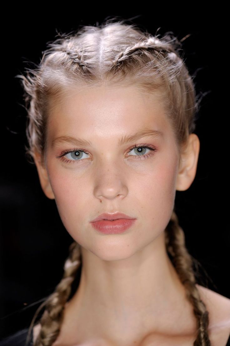 Plaits appeared on the spring/summer 2017 catwalks in every imaginable form - see the best styles from backstage here