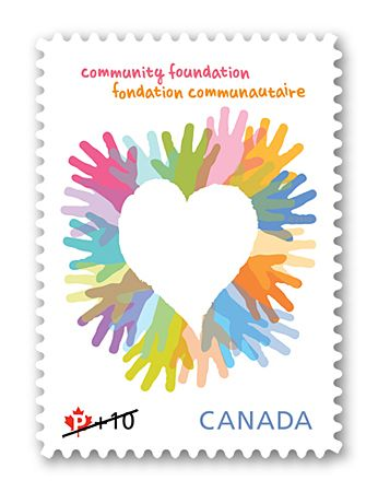 Canada Post Community Foundation Stamp