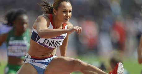 "Jessica Ennis- heptathlon- 100m haies 12""54!"
