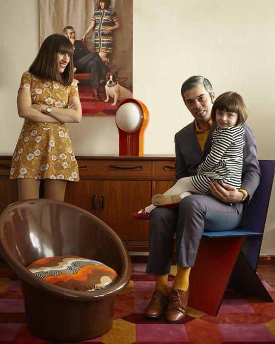 Diana, moglie di Fernando, è appassionata di abiti vintage e mobili retrò - IKEA