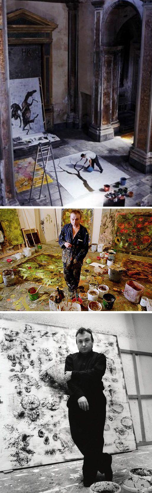 Miquel Barceló ( http://www.artnet.com/artists/miquel-barcel%C3%B3/ )