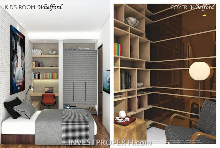 Contoh design kids room Whelford Greenwich Park BSD