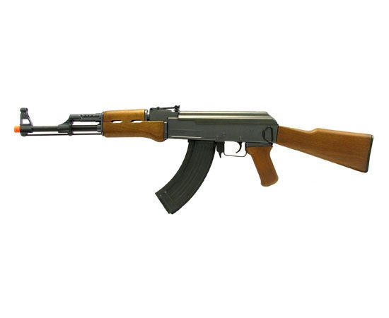 Double Eagle AK 47 FPS 300 Electric Airsoft Assault Rifle