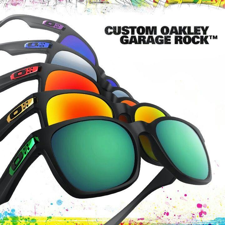 oakley garage rock lenses