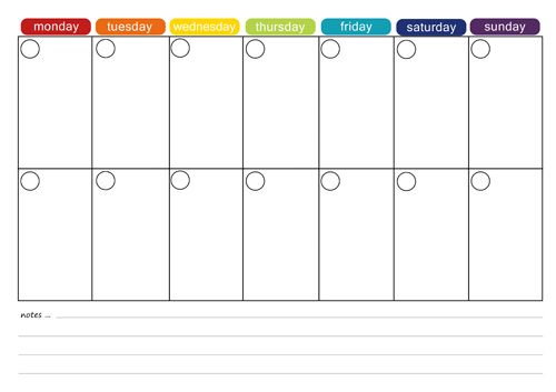 More Free Printable Menu Plans | Weekly meals, Monthly ...