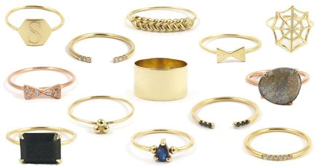 Jennie Kwon's collection of minimalist precious metal jewelry
