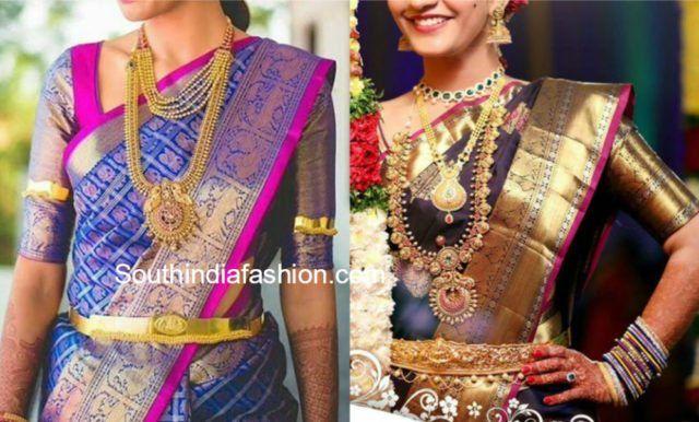 163da7e316781 big border elbow length sleeves blouse for pattu sarees