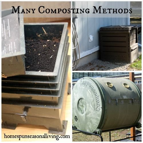 One farm, many composting methods to amend the soil and feed seedlings all season long naturally.