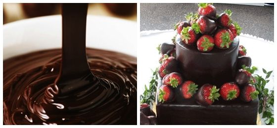 Cómo Decorar una Torta Sencilla con Ganache de Chocolate         Tortas sencillas