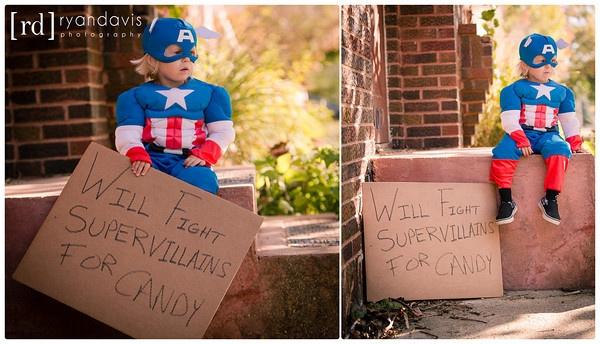 """Captain America falls on hard times""- So cute!"