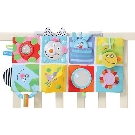 Buy Taf Toys Baby Cot Play Centre Toy Online at johnlewis.com